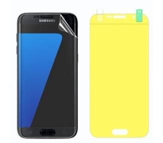 Protector Pantalla TPU Samsung Galaxy S7 Edge Plastico Flexible Curvo