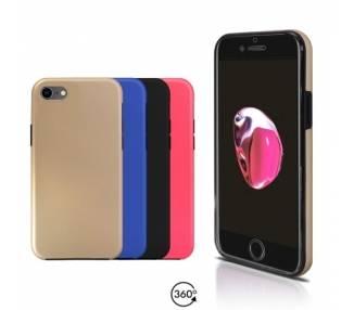 Funda Doble iPhone 7 Silicona Delantera y Trasera 360 - 4 Colores ARREGLATELO - 1