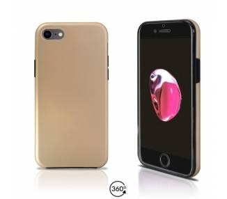 Funda Doble iPhone 7 Silicona Delantera y Trasera 360 - 4 Colores ARREGLATELO - 2