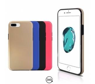 Funda Doble iPhone 7 Plus Silicona Delantera y Trasera 360 - 4 Colores ARREGLATELO - 1
