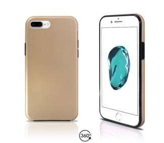 Funda Doble iPhone 7 Plus Silicona Delantera y Trasera 360 - 4 Colores ARREGLATELO - 2