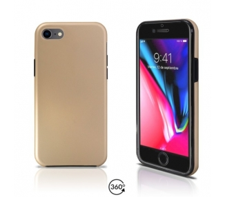 Funda Doble iPhone 8 Silicona Delantera y Trasera 360 - 4 Colores ARREGLATELO - 2