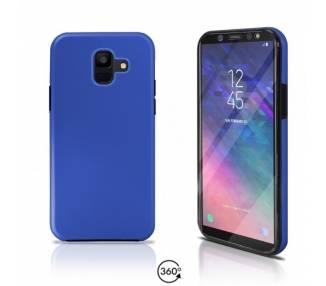 Funda Doble Samsung Galaxy A6 2018 Silicona Delantera y Trasera 360 - 4 Colores ARREGLATELO - 2