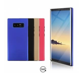 Funda Doble Samsung Galaxy NOTE 8 Silicona Delantera y Trasera 360 - 4 Colores ARREGLATELO - 1