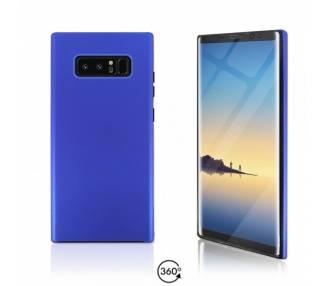 Funda Doble Samsung Galaxy NOTE 8 Silicona Delantera y Trasera 360 - 4 Colores ARREGLATELO - 2