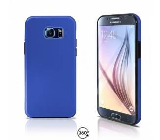 Funda Doble Samsung Galaxy S6 Silicona Delantera y Trasera 360 - 4 Colores ARREGLATELO - 2