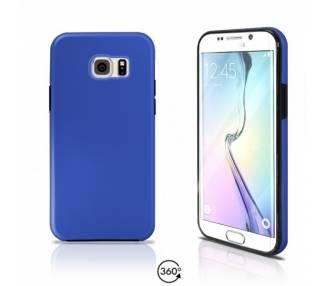 Funda Doble Samsung Galaxy S6 EDGE Silicona Delantera y Trasera 360 - 4 Colores ARREGLATELO - 2