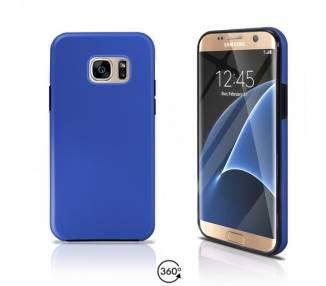 Funda Doble Samsung Galaxy S7 EDGE Silicona Delantera y Trasera 360 - 4 Colores ARREGLATELO - 2