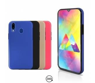 Funda Doble Samsung Galaxy M20 Silicona Delantera y Trasera - 4 Colores ARREGLATELO - 1