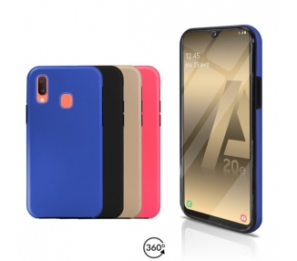 Funda Doble Samsung Galaxy A20E Silicona Delantera y Trasera - 4 Colores ARREGLATELO - 1