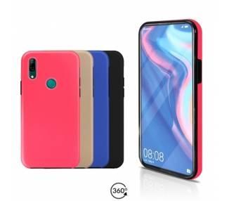 Funda Doble Huawei P Smart Z Silicona Delantera y Trasera 360 - 4 Colores ARREGLATELO - 1