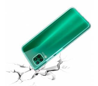 Funda Doble Samsung Galaxy Note 10 Silicona Transparente Delantera y Trasera