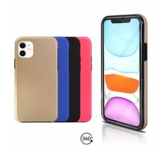 Funda Doble iPhone 11 Silicona Delantera y Trasera 360 - 4 Colores ARREGLATELO - 1