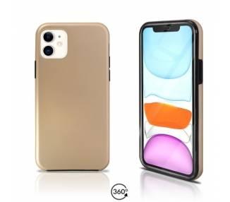 Funda Doble iPhone 11 Silicona Delantera y Trasera 360 - 4 Colores ARREGLATELO - 2