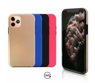 Funda Doble iPhone 11 Pro Silicona Delantera y Trasera 360 - 4 Colores ARREGLATELO - 1