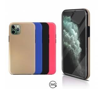 Funda Doble iPhone 11 Pro Max Silicona Delantera y Trasera 360 - 4 Colores ARREGLATELO - 1