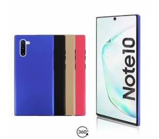 Funda Doble Samsung Galaxy Note 10 Silicona Delantera y Trasera 360 - 4 Colores ARREGLATELO - 1