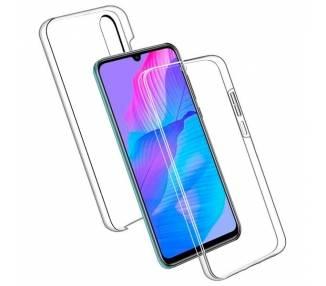 Funda Doble Huawei P Smart S / Y8P Silicona Transparente Delantera y Trasera