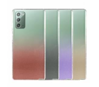 Funda Antigolpe Gradiente para Samsung Galaxy Note 20 - 4 Colores ARREGLATELO - 1