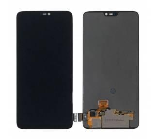 Pantalla LCD Completa Para Oneplus 6 Negra ARREGLATELO - 2