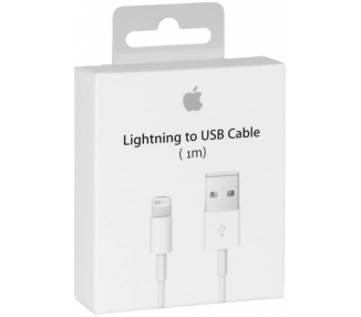 Câble USB Lightning pour IPhone 5 5C 5S 6 Plus 6S 7 8 MD818ZM / A Original