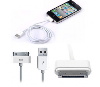 Oryginalny iPhone 4 4S i kabel Lightning USB do 5 5S 5C 6 6S Plus iPad 2 3 Air