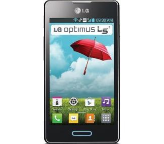 "LG Optimus L5 E620 4 Android 4.0 4GB 512MB RAM 5MP WIFI GPS Czarny """