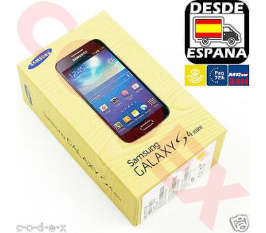 Samsung Galaxy S4 mini 8GB 4G - Blauw - Simlockvrij - A + Samsung - 1
