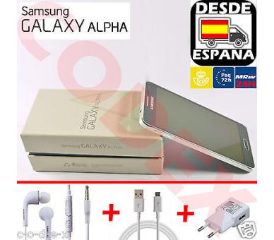 Samsung Galaxy Alpha 32GB Zwart - Simlockvrij - A + Samsung - 2