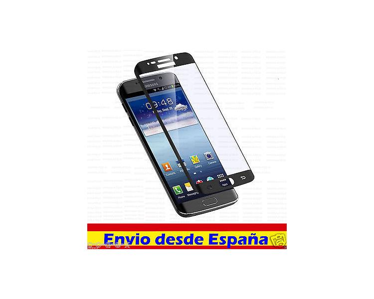 PROTECTOR PANTALLA CRISTAL TEMPLADO CURVO CURVADO 3D para SAMSUNG GALAXY S6 EDGE  - 3