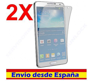 2X PROTECTOR DE PANTALLA para SAMSUNG GALAXY NOTE 3 III n9002 n9005 LCD SCREEN  - 1
