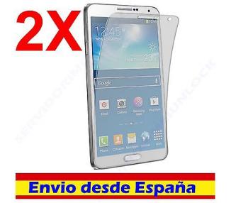 2X PROTECTOR DE PANTALLA para SAMSUNG GALAXY NOTE 3 III n9002 n9005 LCD SCREEN