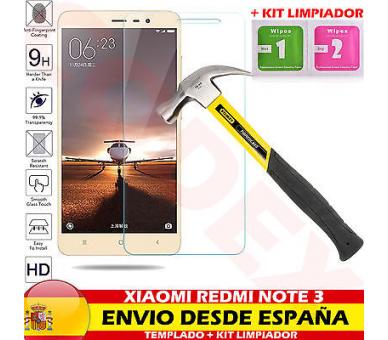 Screen Protector - Tempered Glass for Xiaomi Redmi Note 3 ARREGLATELO - 1