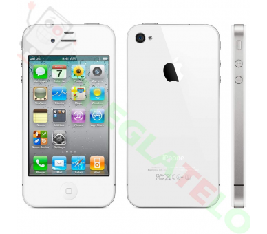 Apple iPhone 4 | White | 8GB | Refurbished | Grade A+ Apple - 2