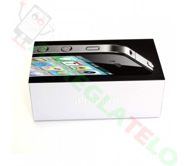Apple iPhone 4 8GB Negro- Libre - A+ Apple - 3