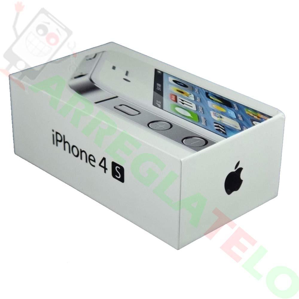946144a9366 Telefono Movil Original Apple iPhone 4S BLANCO / 32GB Libre / Nuevo OUTLET  - ARREGLATELO.ES