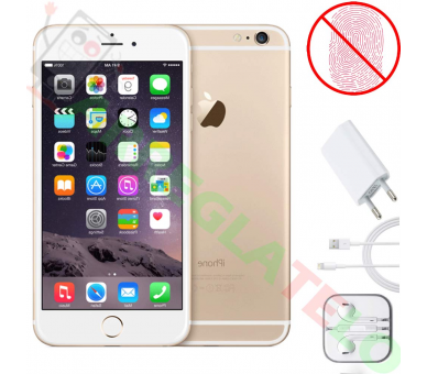 Apple iPhone 6 | Gold | 16GB | Refurbished | Grade A+ | No Touch iD Apple - 1
