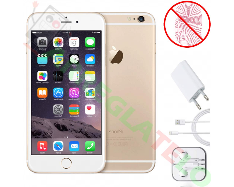 Apple iPhone 6 16GB - Goud - Zonder Touch iD - A + Apple - 1