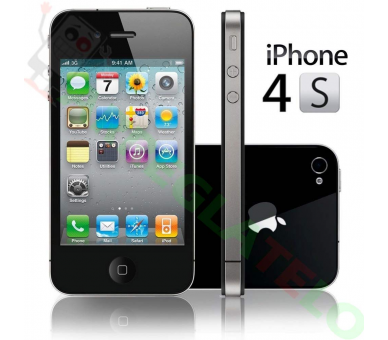 Apple iPhone 4S 32 GB - Zwart - Simlockvrij - A + Apple - 2