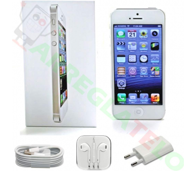 Apple iPhone 5 16GB - Blanco - Libre - A+ Apple - 5