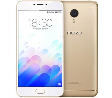 Meizu M3 Note 16GB Internationale versie 4G 2GB RAM IPS OCTA CORE 1.8 GHZ Goud Meizu - 3