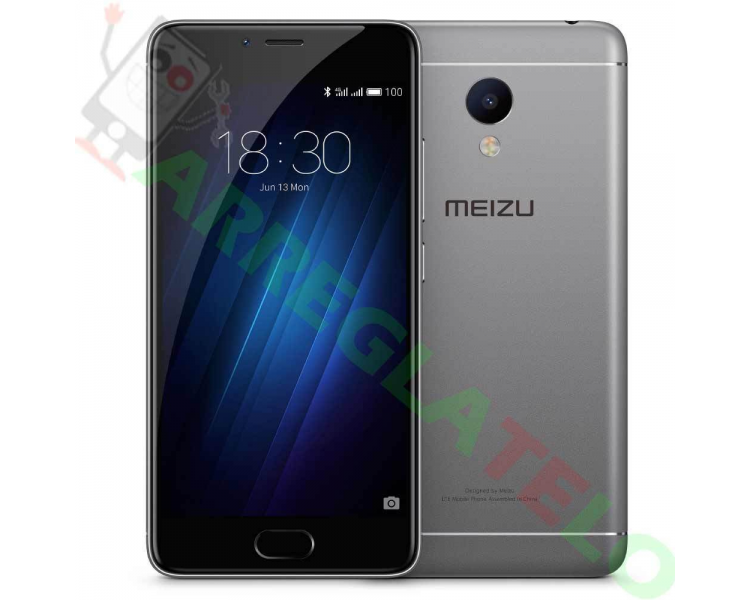 Meizu M3S 4G 2GB RAM 16GB OCTACORE 1'5 GHz 5 'FHD IPS CAMERA 13.0MP GRIJS Meizu - 1