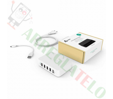 AUKEY Smart Charger USB AiPower / OTG / 39W 7,8A  - 1
