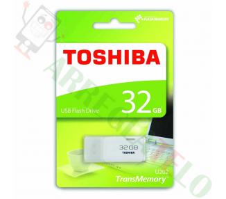 Pendrive Flash Toshiba Hayabusa THNU32HAYWHT USB 3.0 32GB Black  - 1