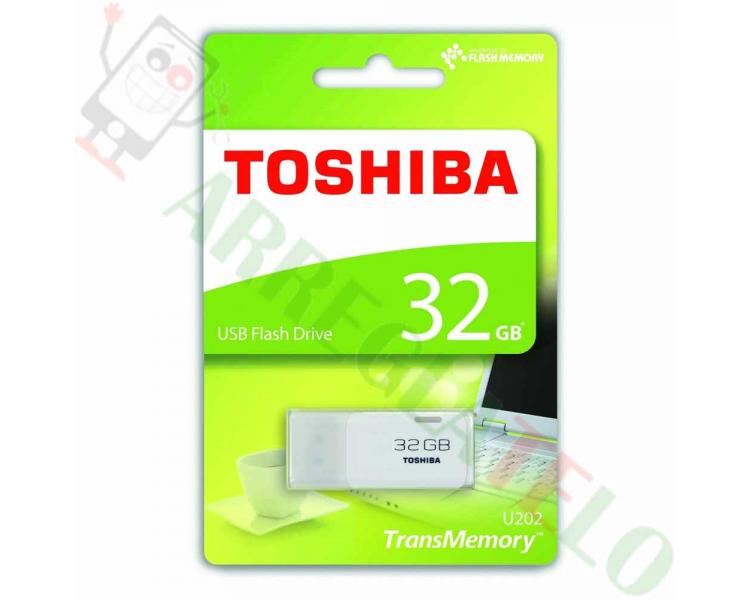Toshiba Hayabusa THNU32HAYWHT USB 3.0 Flash Drive 32GB Zwart  - 1