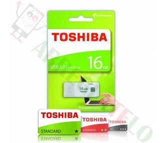 Toshiba THN-U301W0160E4 Pendrive USB 3.0 16 Go argent  - 1