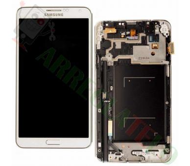 Volledig scherm met frame voor Samsung Galaxy Note 3 Wit Wit FIX IT - 2