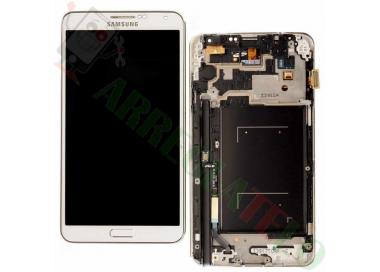 Pantalla Completa con Marco para Samsung Galaxy Note 3 Blanco Blanca ARREGLATELO - 2
