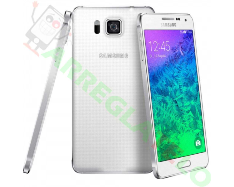 Samsung Galaxy Alpha | White | 32GB | Refurbished | Grade A+