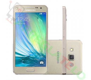 """Samsung Galaxy A3 - 4.5"""",8 Mp, 16 GB, Quad-Core, 1 GB RAM Gold Samsung - 1"""